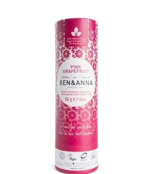 Deodorante solido pink grapefruit ben & anna