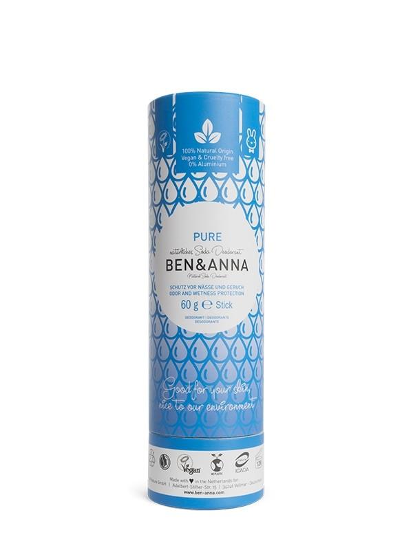 deodorante solido pure ben and anna