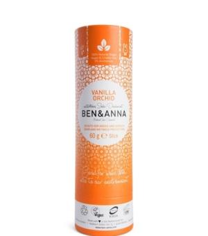 deodorante solido vanilla orchid ben and anna