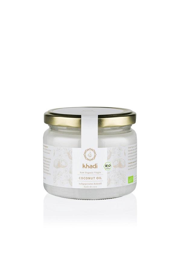 Olio di cocco biologico Khadi (1) - La Libellula Ecobio